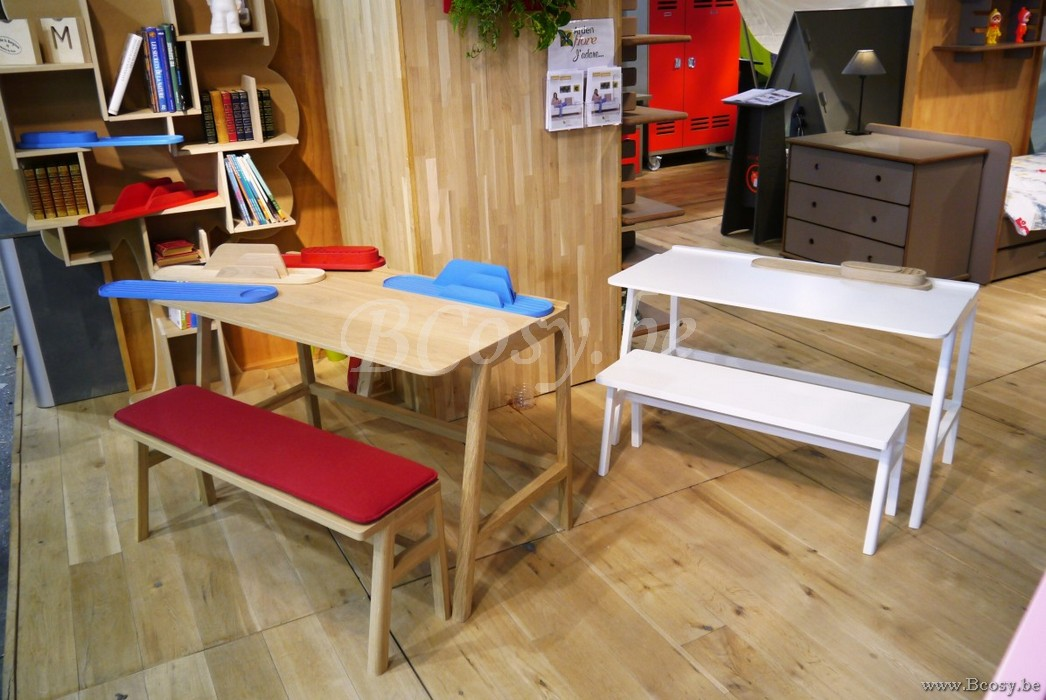 mathy by bols vessel klein kinderbank in massief eiken. Black Bedroom Furniture Sets. Home Design Ideas